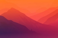 Nature-Mountain-Forest-Art-iPhone-Wallpaper